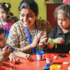 Art-and-Crafts-program-children-Creative-Me-Eden-Castle-Preschool-New-Delhi
